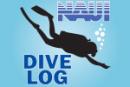 NAUI_dive_professional_divelog